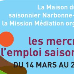 Illustration : Les mercredis de l'emploi saisonnier à Sérignan