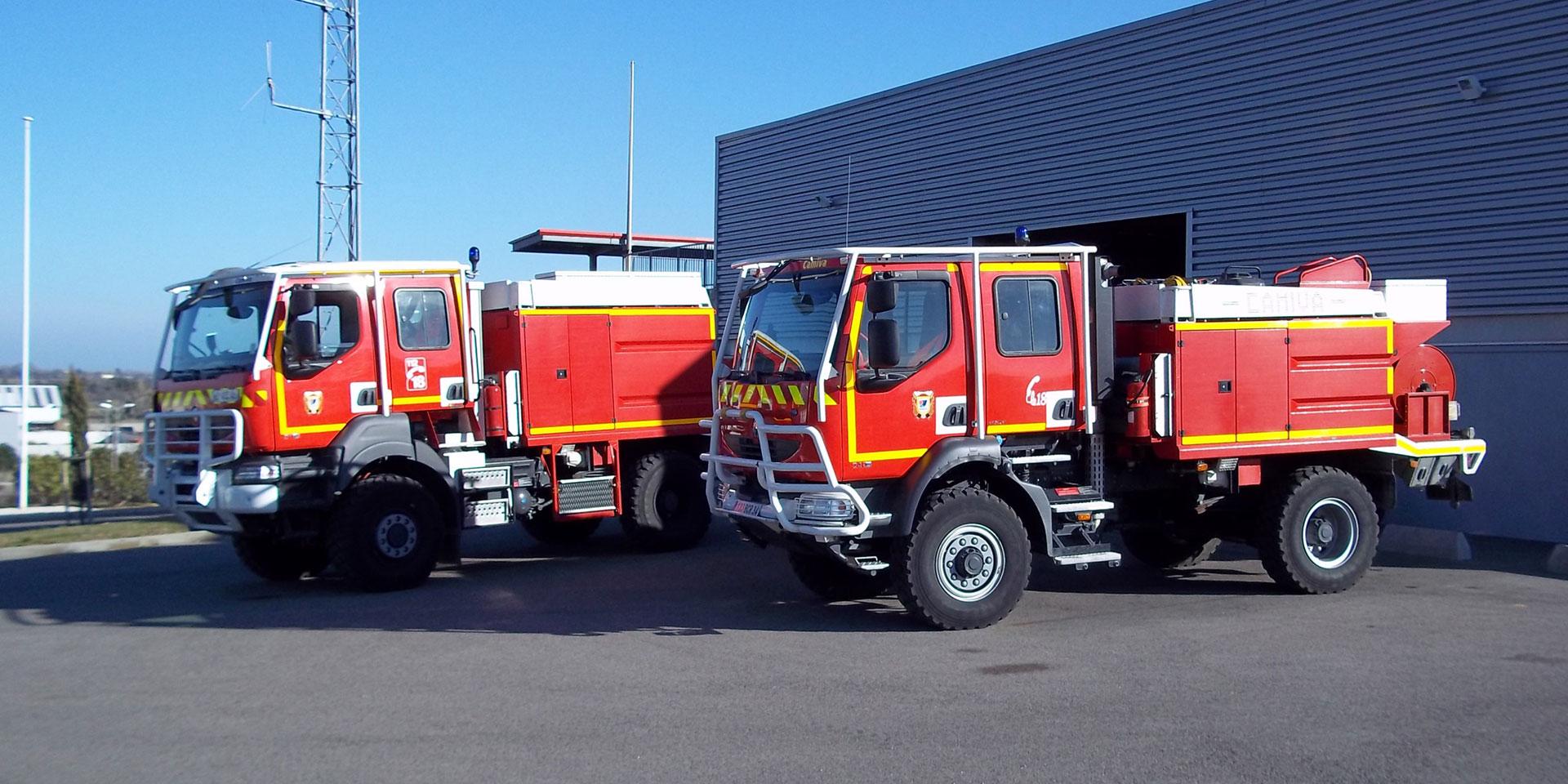 Pompiers et Gendarmerie