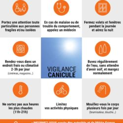 Illustration : Alerte canicule vigilance orange