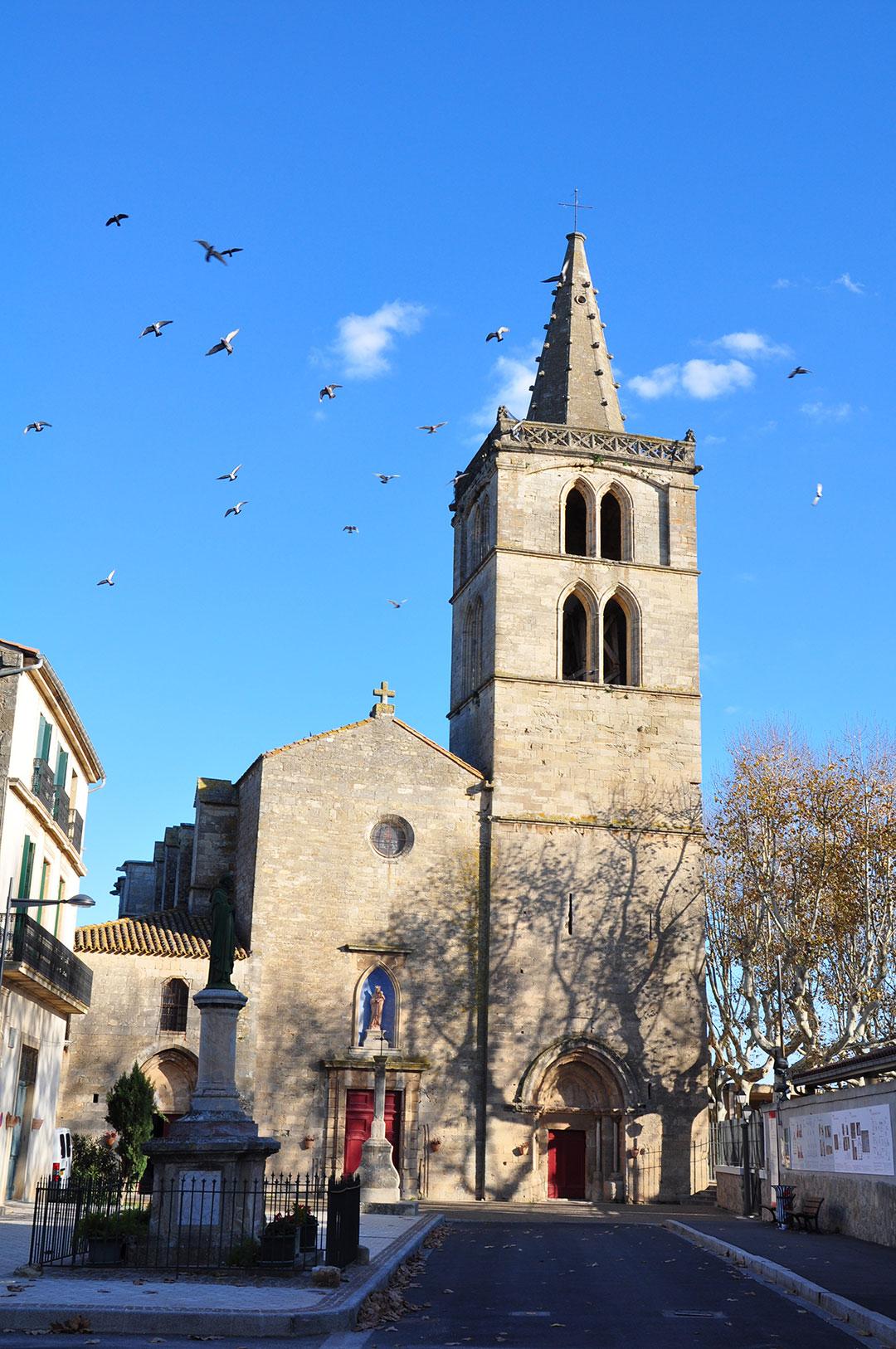 La Collégiale Notre Dame De Grâce - Vue extérieure
