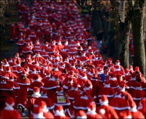 Les foulées du Père Noël @ Allées de la République