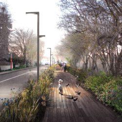 Illustration : Les réaménagements d'envergure de la rue Piazza et de ses environs