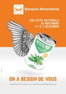 Collecte des banques alimentaires @ Commerces