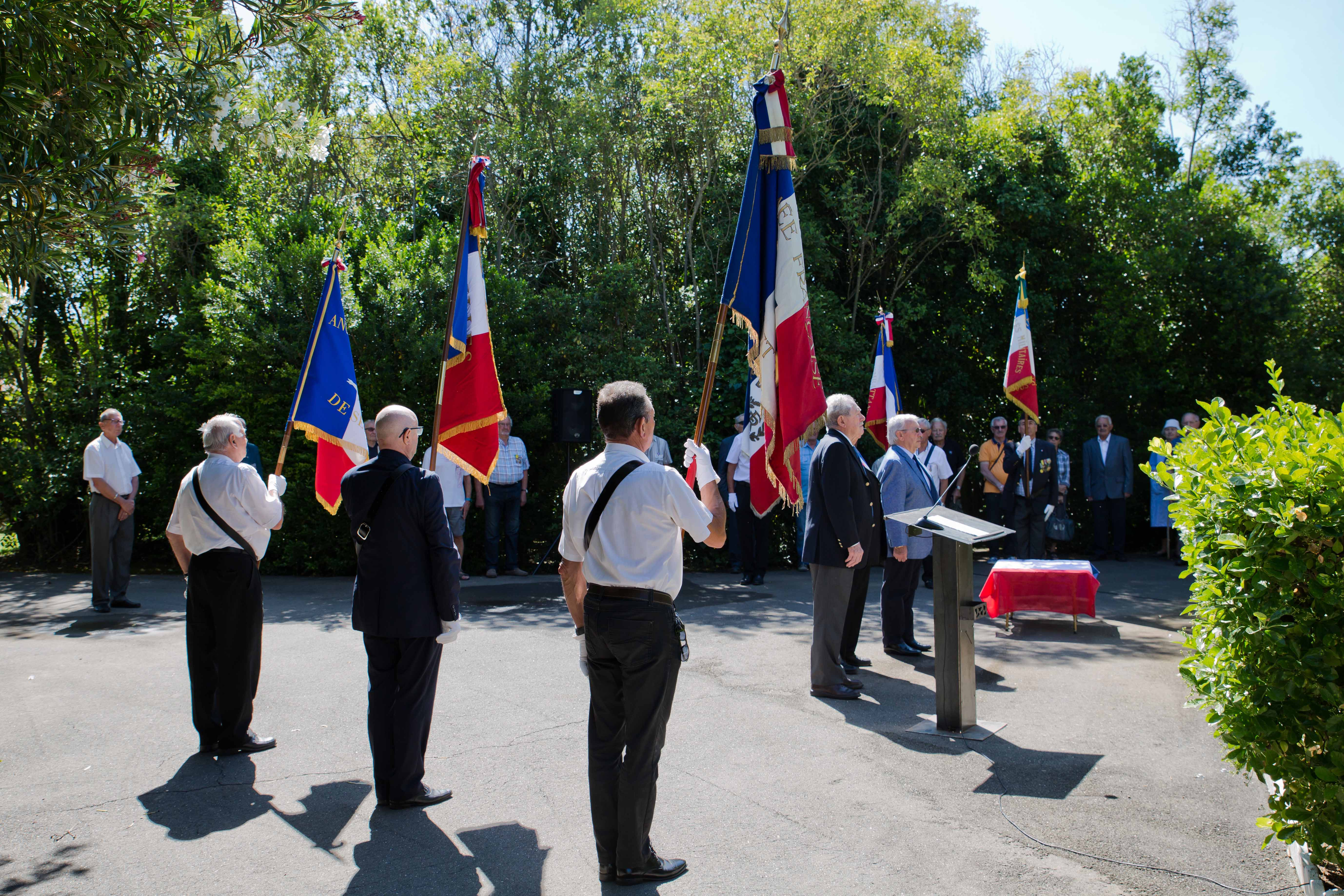 Cérémonie aux morts pour la France de la guerre d'Indochine