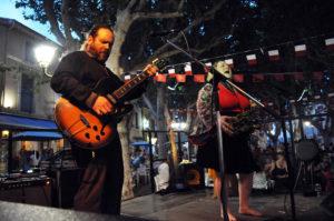Concert Jersey Julie Band @ Place de la Liberté