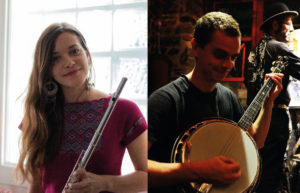 Concert comme au pub avec Lucie Périer & Her Big (hus)band @ Médiathèque Samuel Beckett