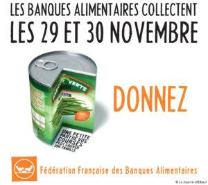 Collecte des banques alimentaires @ Grandes surfaces