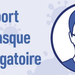 Illustration : Prolongation de l'obligation de port du masque jusqu'au 27 octobre