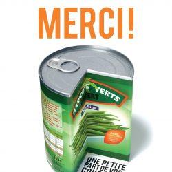 Illustration : Collecte nationale des banques alimentaires